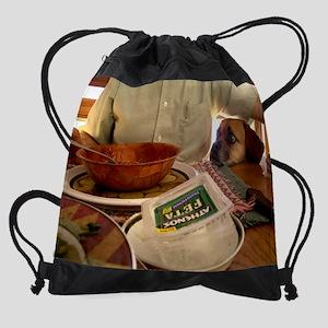 Feta Cheese Drawstring Bag