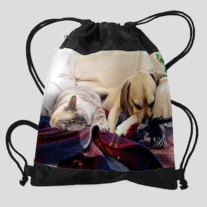 Gus and Matilda Drawstring Bag