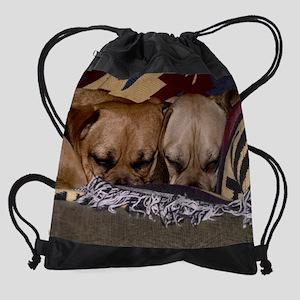 Puggle Love Drawstring Bag
