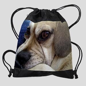 The eye Drawstring Bag