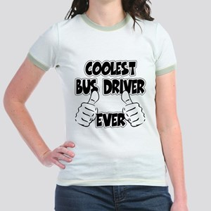 Coolest Bus Driver Ever Jr. Ringer T-Shirt