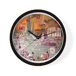Garden of Alcyone Wall Clock