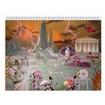 Mystical Garden of Alcyone Wall Calendar