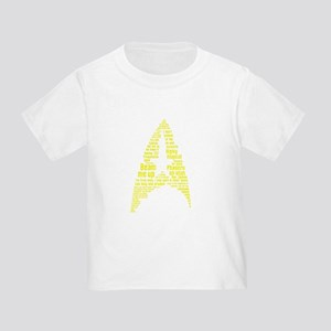 Star Trek Quotes (Insignia) Toddler T-Shirt