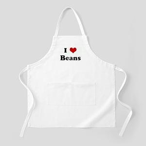 I Love Beans BBQ Apron