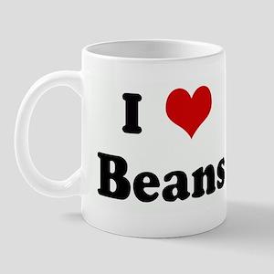 I Love Beans Mug