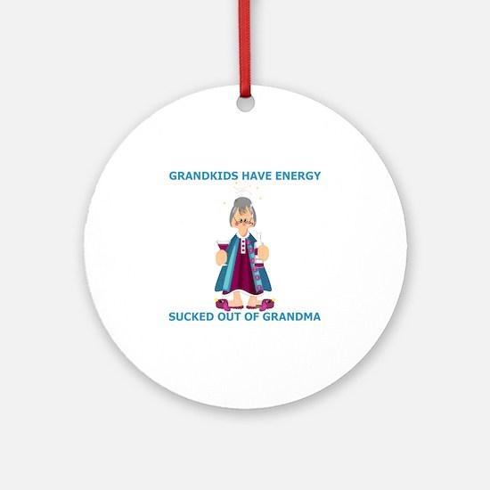 Granny Ornament (Round)