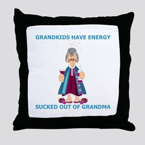 Granny Throw Pillow