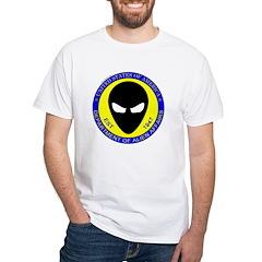 Department of Alien Affairs White T-Shirt