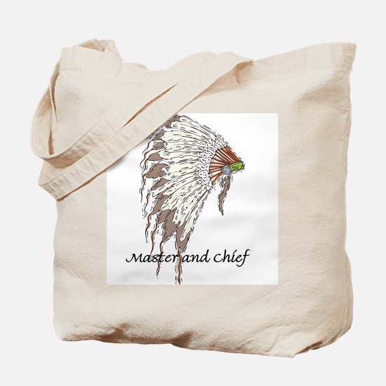 MASTER AND CHIEF Tote Bag