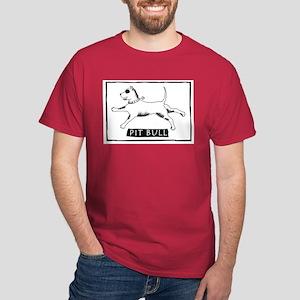 Dancing Pit Bull Dark T-Shirt