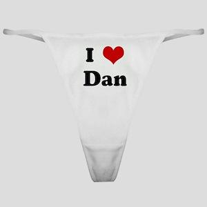 I Love Dan Classic Thong