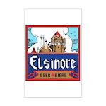 Elsinore Beer Mini Poster Print