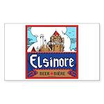 Elsinore Beer Rectangle Sticker