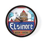 Elsinore Beer Wall Clock