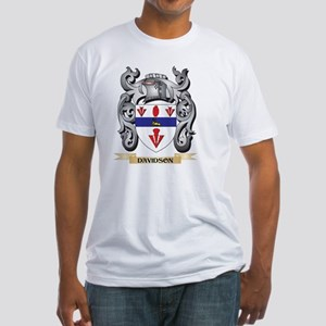 Davidson Coat of Arms - Family Crest T-Shirt