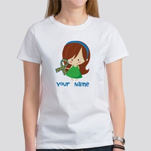 Personalized Autism Girl Women's T-Shirt