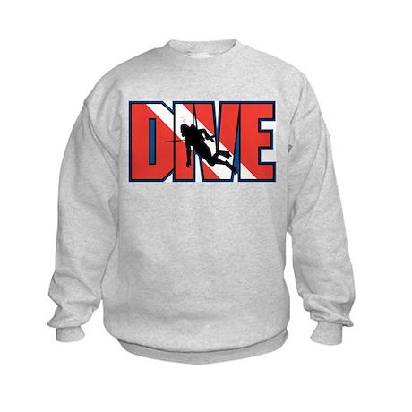 Diving Kids Sweatshirt