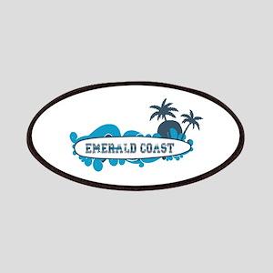 Emerald Coast - Surf Design. Patches