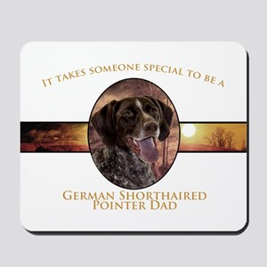 Pointer Dad Mousepad