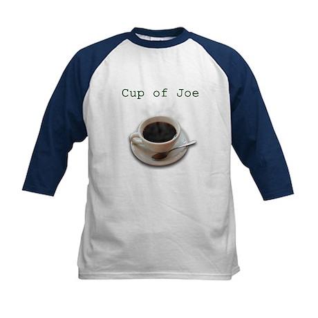 Cup of Joe Kids Baseball Jersey