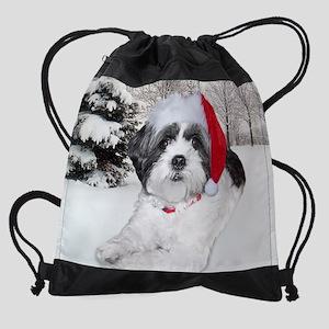 bellecalendarCHRISTMAS2 Drawstring Bag