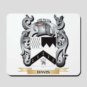 Davis Coat of Arms - Family Crest Mousepad