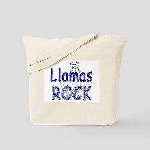 Llamas Rock Tote Bag