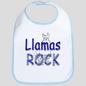 Llamas Rock Bib