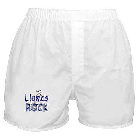 Llamas Rock Boxer Shorts