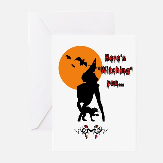 Witchy Greeting Cards (Pk of 10)