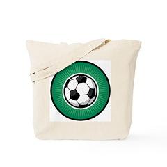 Soccer 2 Tote Bag