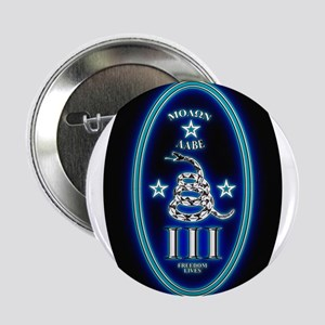 "Molon Labe - Vertical Blue 2.25"" Button"