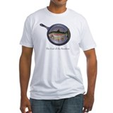 Fishing humor Fitted Light T-Shirts