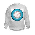 Baseball 2 Kids Sweatshirt