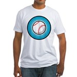 Baseball 2 Fitted T-Shirt