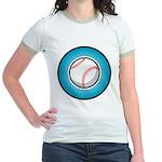 Baseball 2 Jr. Ringer T-Shirt