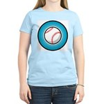 Baseball 2 Women's Pink T-Shirt