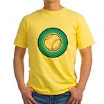 Baseball 2 Yellow T-Shirt