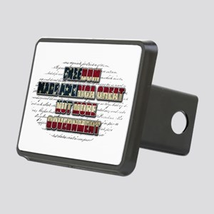 Freedom Not Government WFL Oval Hitch Cover