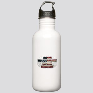 Freedom Not Government WFL Oval Water Bottle