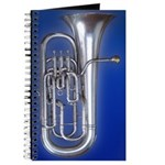 Euphonium Notes Spiral Bound Blank Book