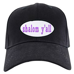 Shalom Y'all Greeting Baseball Hat