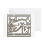 Eye of Horus Greeting Cards (Pk of 10)
