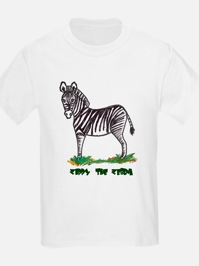 Zippy the Zebra Kids T-Shirt