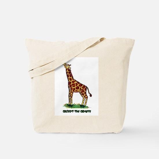 Gilbert the Giraffe Tote Bag