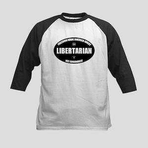 Libertarian BWL Oval Baseball Jersey