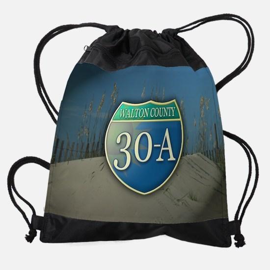 30poster.png Drawstring Bag