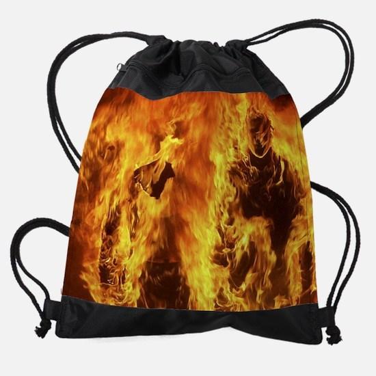 HotCalendarGuys.jpg Drawstring Bag