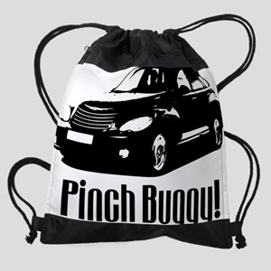 pinchbuggy_clear Drawstring Bag